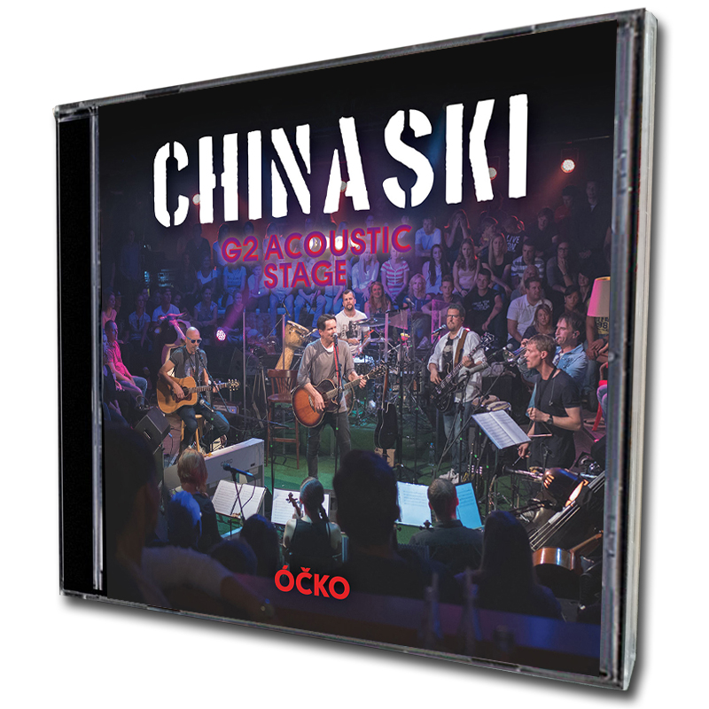 CD+DVD Chinaski G2 Acoustic Stage