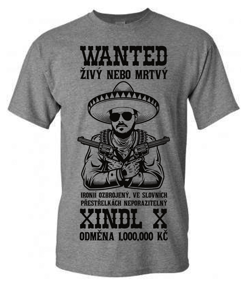 Triko unisex Xindl X Wanted